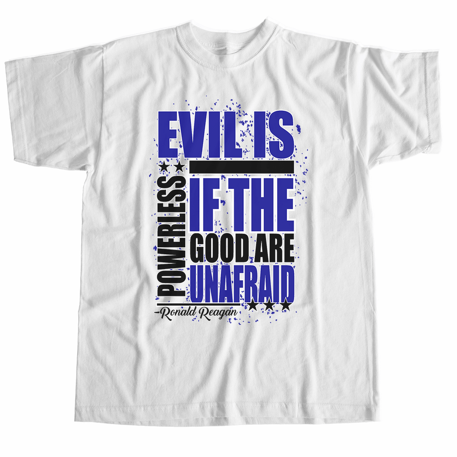 POLICE Design - EVIL IS POWERLESS SHIRT