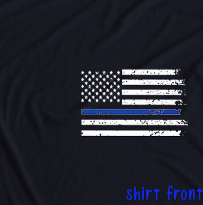 POLICE Design - I AM THE STORM PATRIOTIC SHIRT