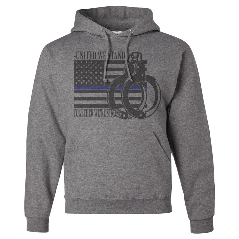 UNITED WE STAND POLICE SUPPORT SHIRT