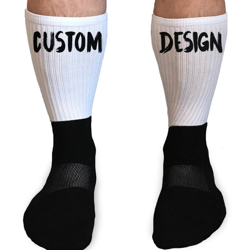 CUSTOM DESIGN ATHLETIC OR COMPRESSION SOCKS