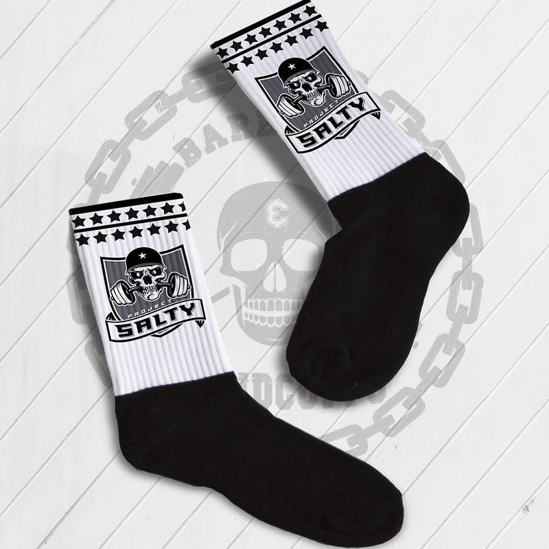 CUSTOM PHOTO SOCKS - CREW OR KNEE HIGH STYLES