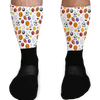 SOCKS - HAVE A BALL SPORTS BALL GRAPHIC ATHLETIC OR COMPRESSION SOCKS