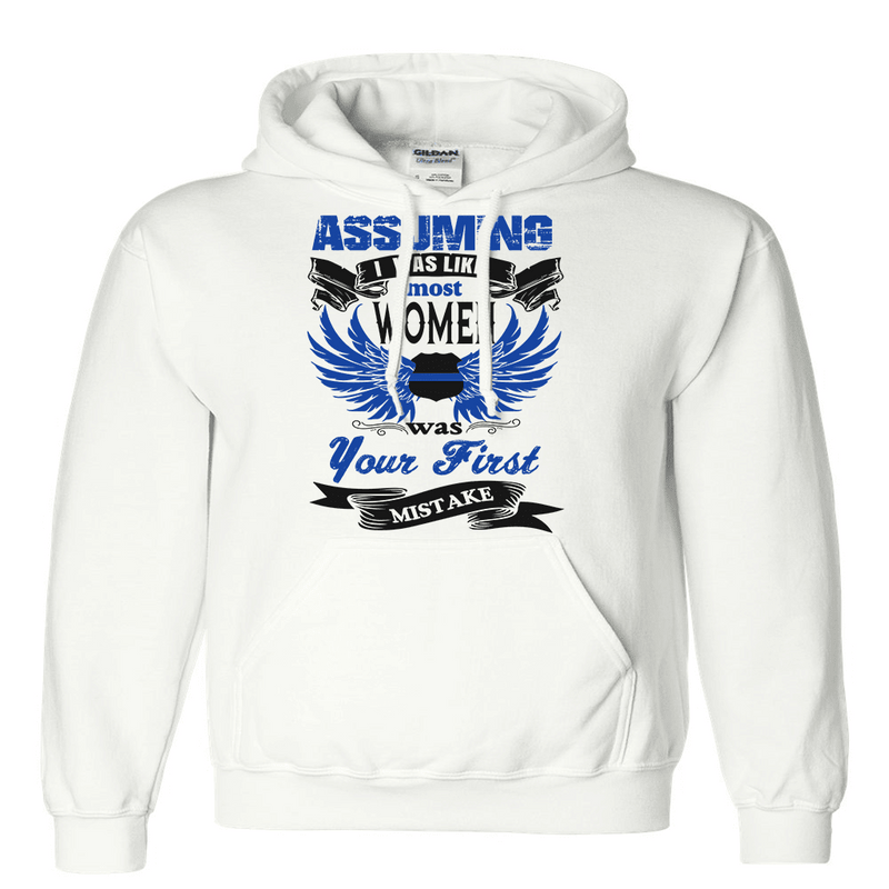 Sweatshirt - ASSUMING I WAS LIKE OTHER WOMEN HOODIE