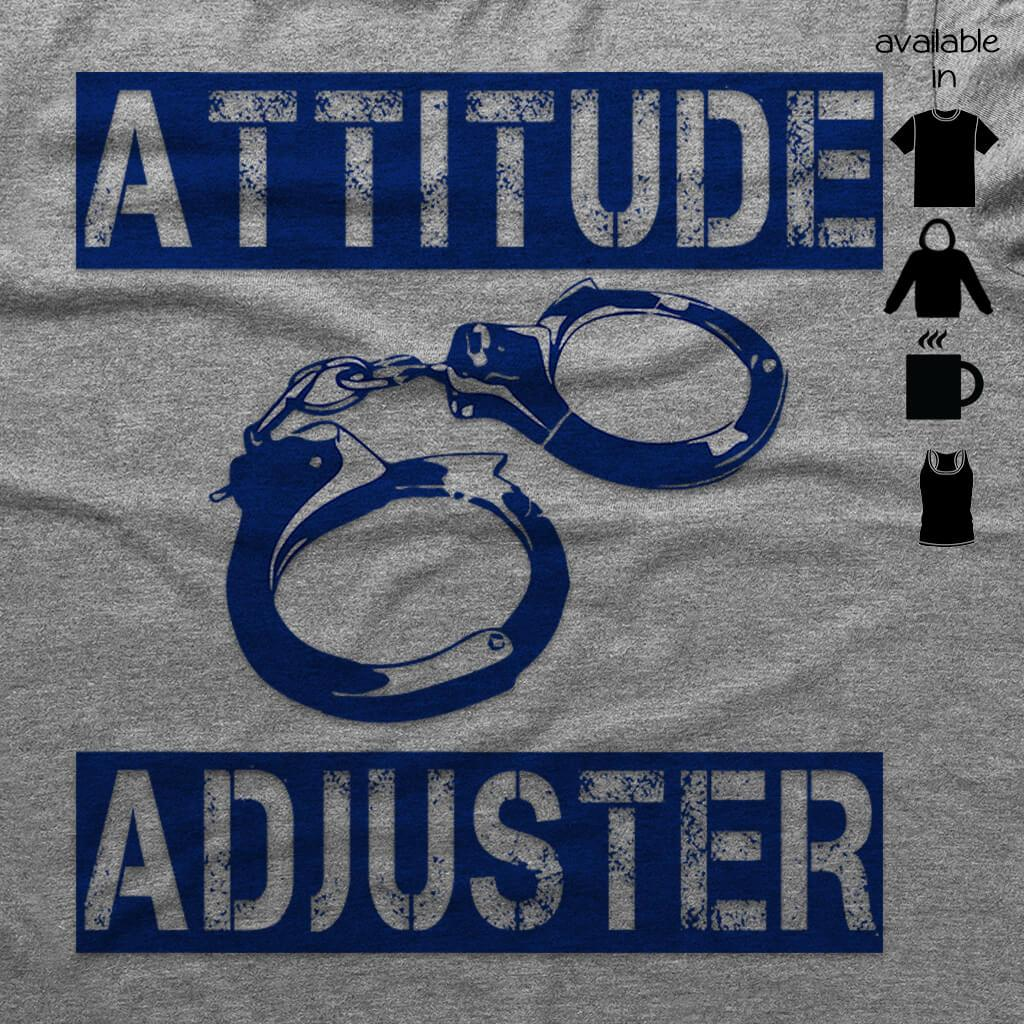 ATTITUDE ADJUSTER HOODED SWEATSHIRT