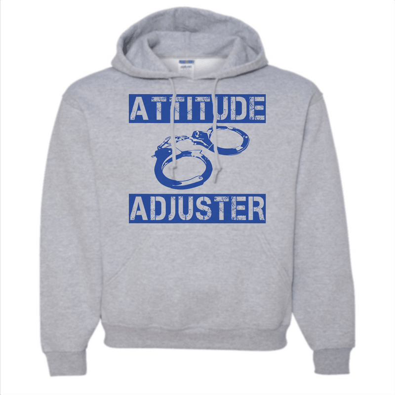 Sweatshirt - ATTITUDE ADJUSTER HOODED SWEATSHIRT