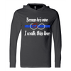 Sweatshirt - BECAUSE HE'S MINE RHINESTONE SWEATSHIRT/T-HOODIE