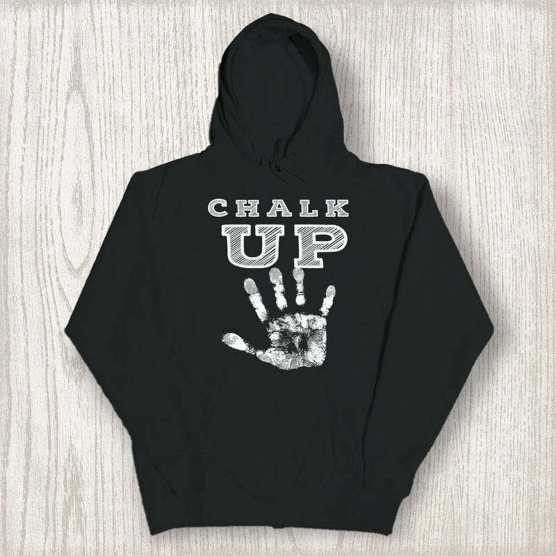Sweatshirt - CHALK UP HOODED SWEATSHIRT