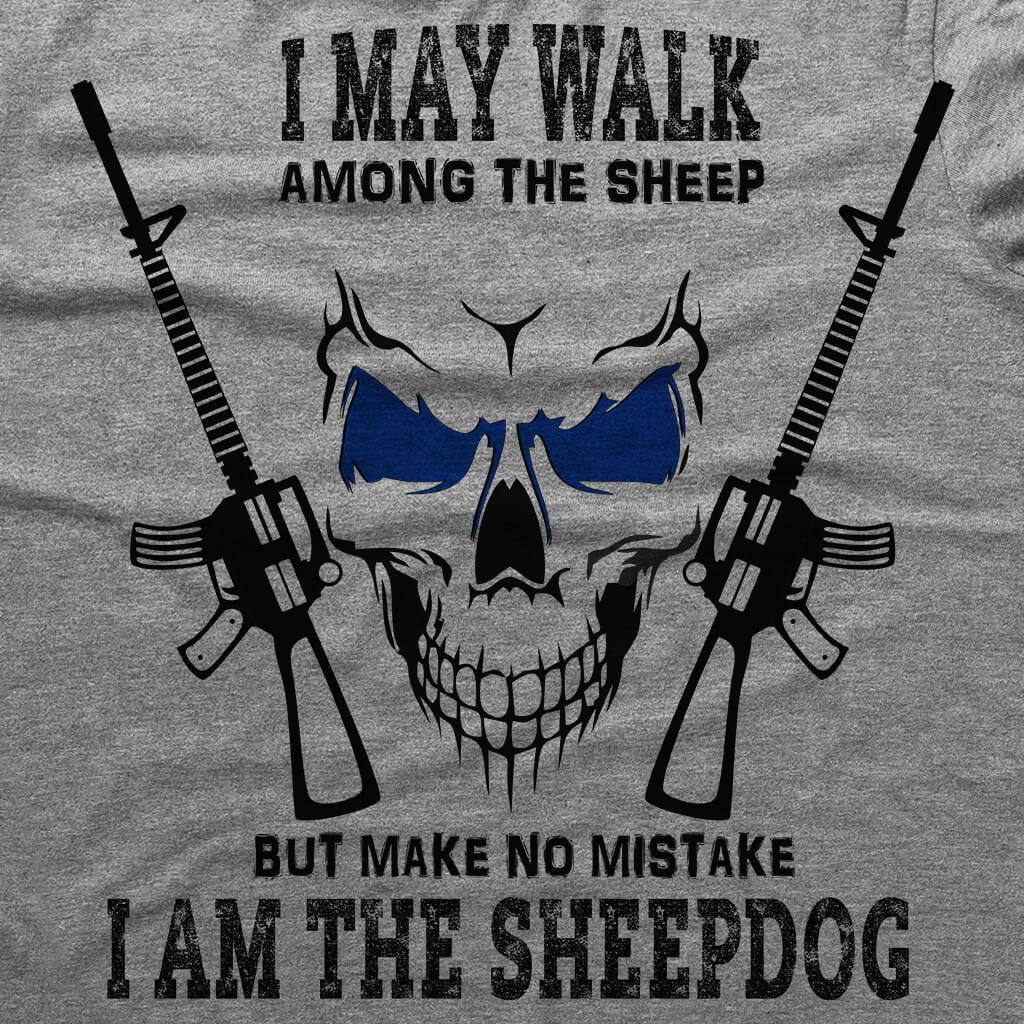 I AM THE SHEEPDOG HOODED SWEATSHIRT