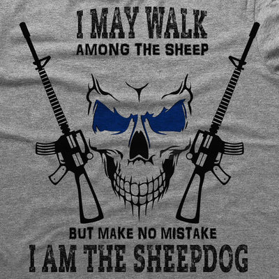 Sweatshirt - I AM THE SHEEPDOG HOODED SWEATSHIRT