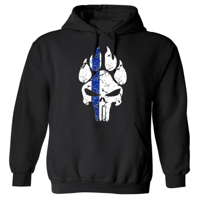 Sweatshirt - K9 PUNISHER POLICE SWEATSHIRT/T-HOODIE