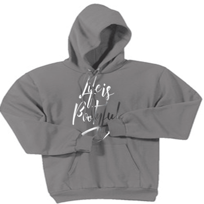 Sweatshirt - LIFE IS BOOTYFUL HOODED SWEATSHIRT/T-HOODIE