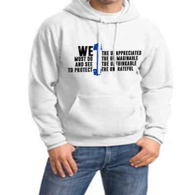 Sweatshirt - WE THE UNAPPRECIATED SWEATSHIRT/T-HOODIE