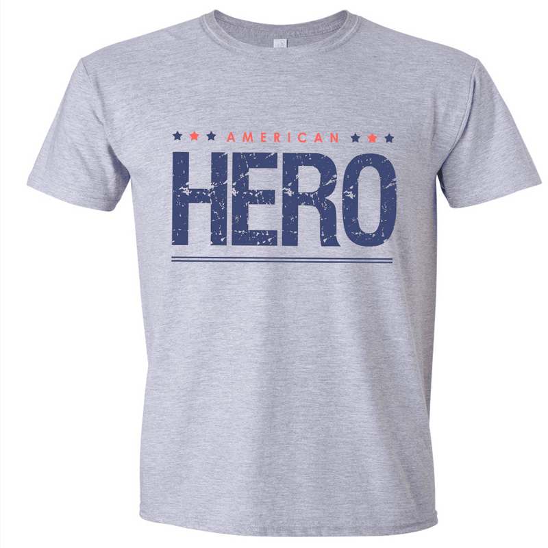 AMERICAN HERO SHIRT OR MUG