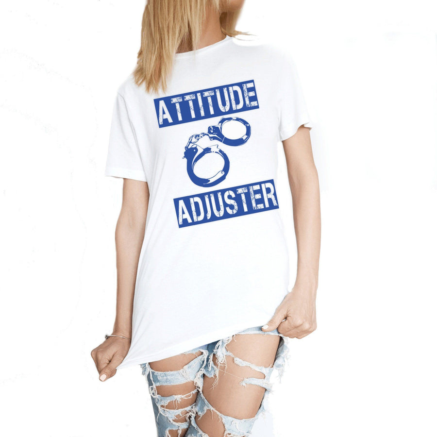 ATTITUDE ADJUSTER POLICE T-SHIRT