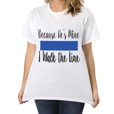 Tshirts - BECAUSE HE'S MINE T-SHIRT