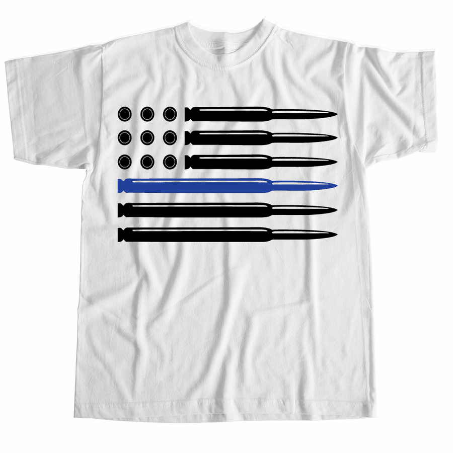 Tshirts - CUSTOM BULLET FLAG T-SHIRT