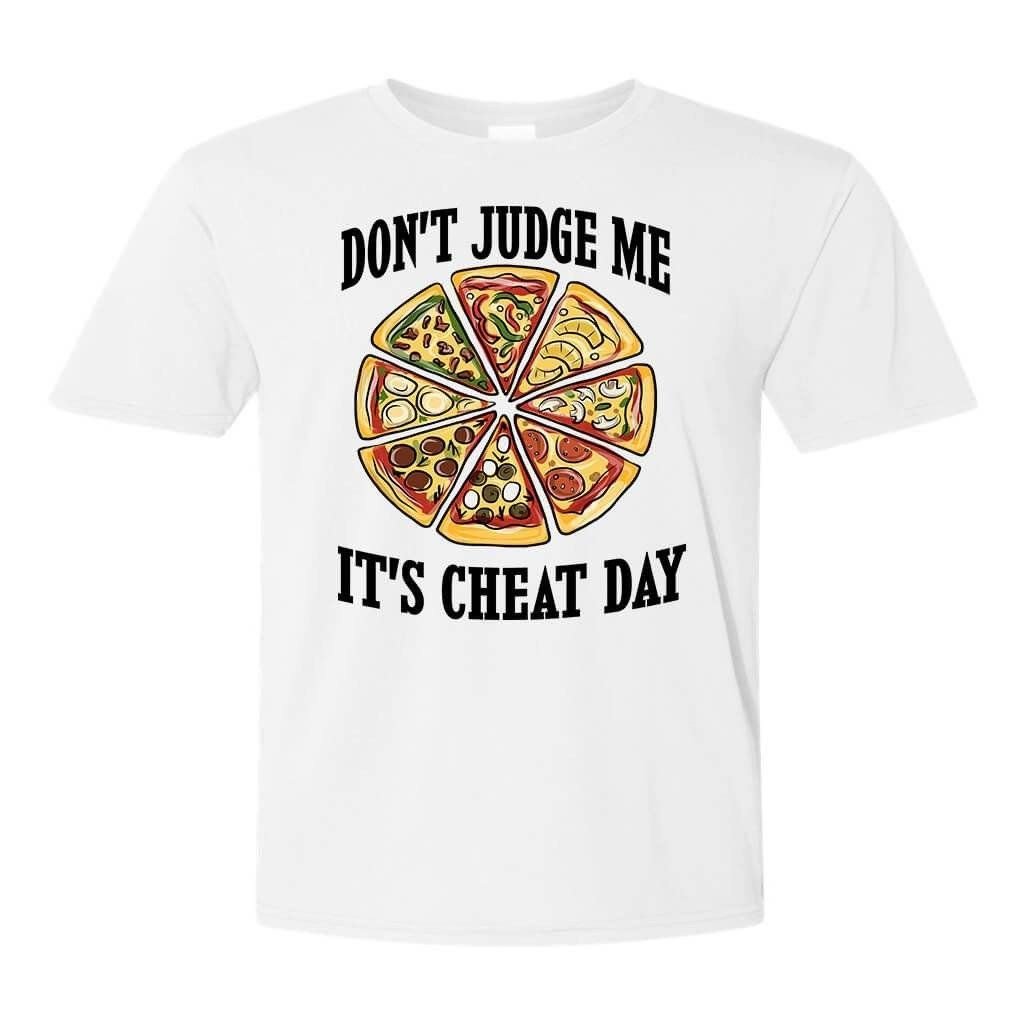 Tshirts - DON'T JUDGE ME UNISEX FULL COLOR FUNNY T-SHIRT