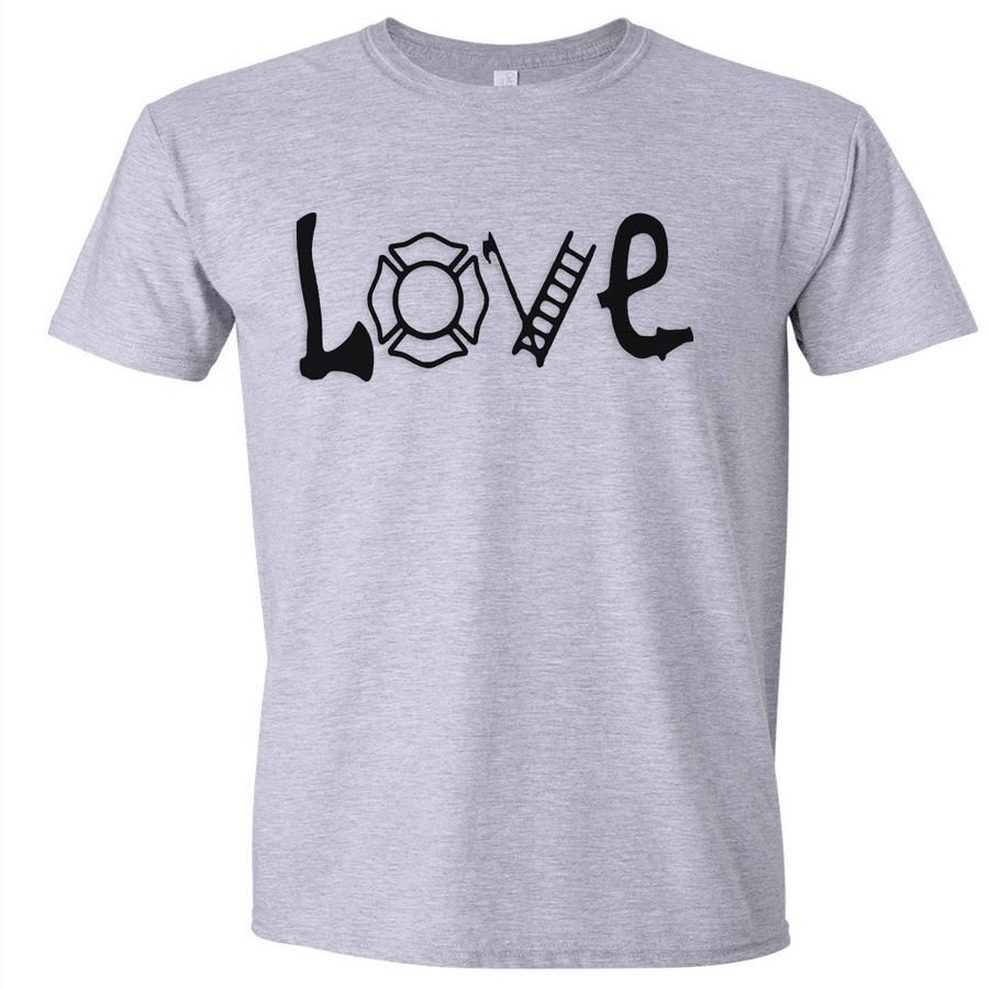 Tshirts - FIRE LOVE T-SHIRT