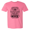 Tshirts - GOD MADE A NURSE T-SHIRT
