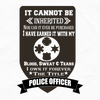 Tshirts - IT CAN'T BE INHERITED POLICE/FIRE/EMT T-SHIRT