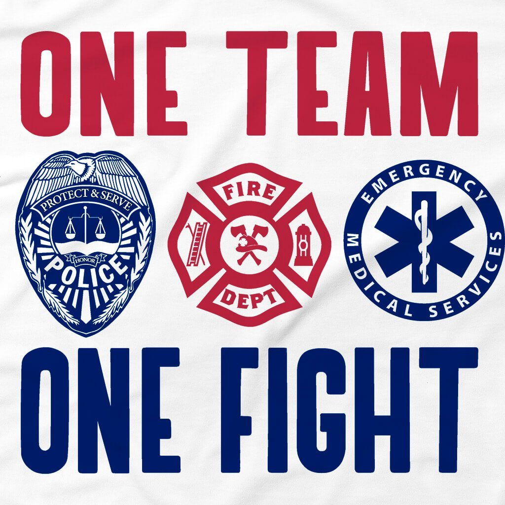 Tshirts - ONE TEAM ONE FIGHT T-SHIRT
