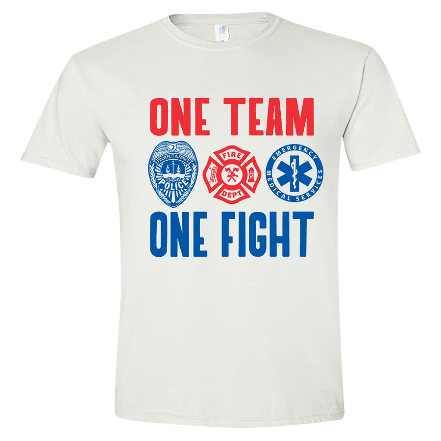 ONE TEAM ONE FIGHT T-SHIRT