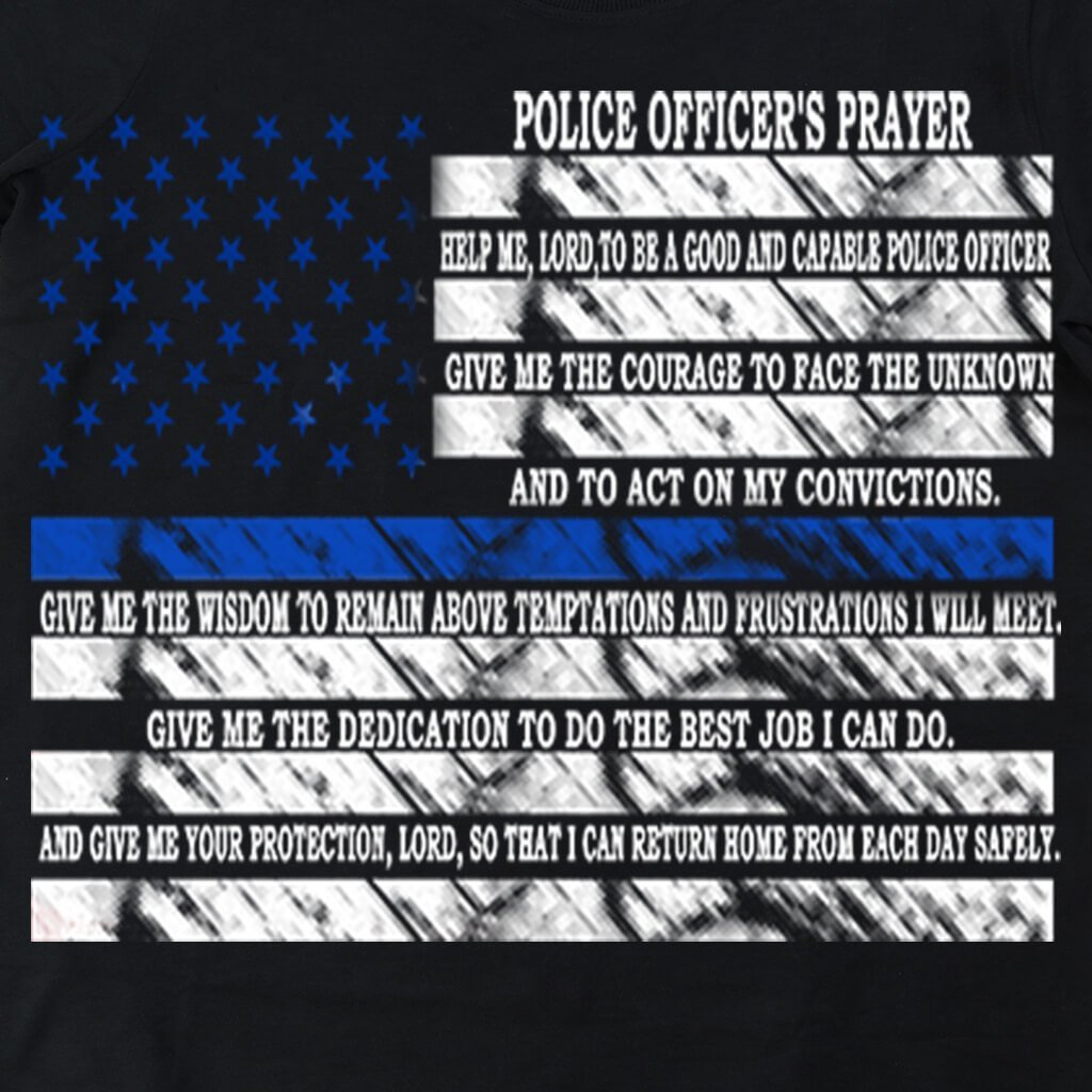 POLICE PRAYER T-SHIRT