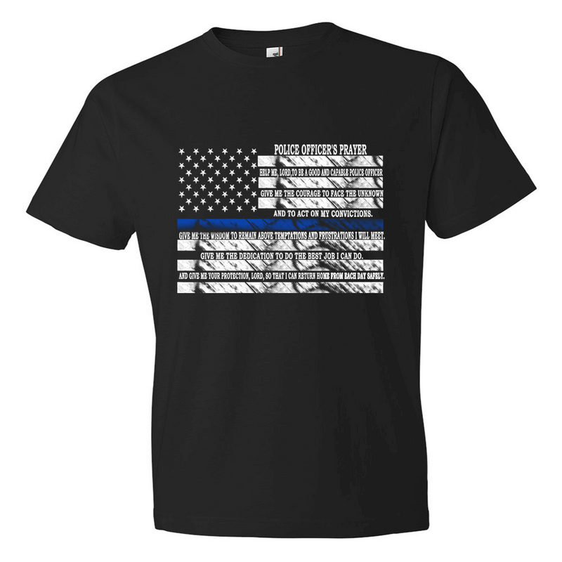 Tshirts - POLICE PRAYER T-SHIRT