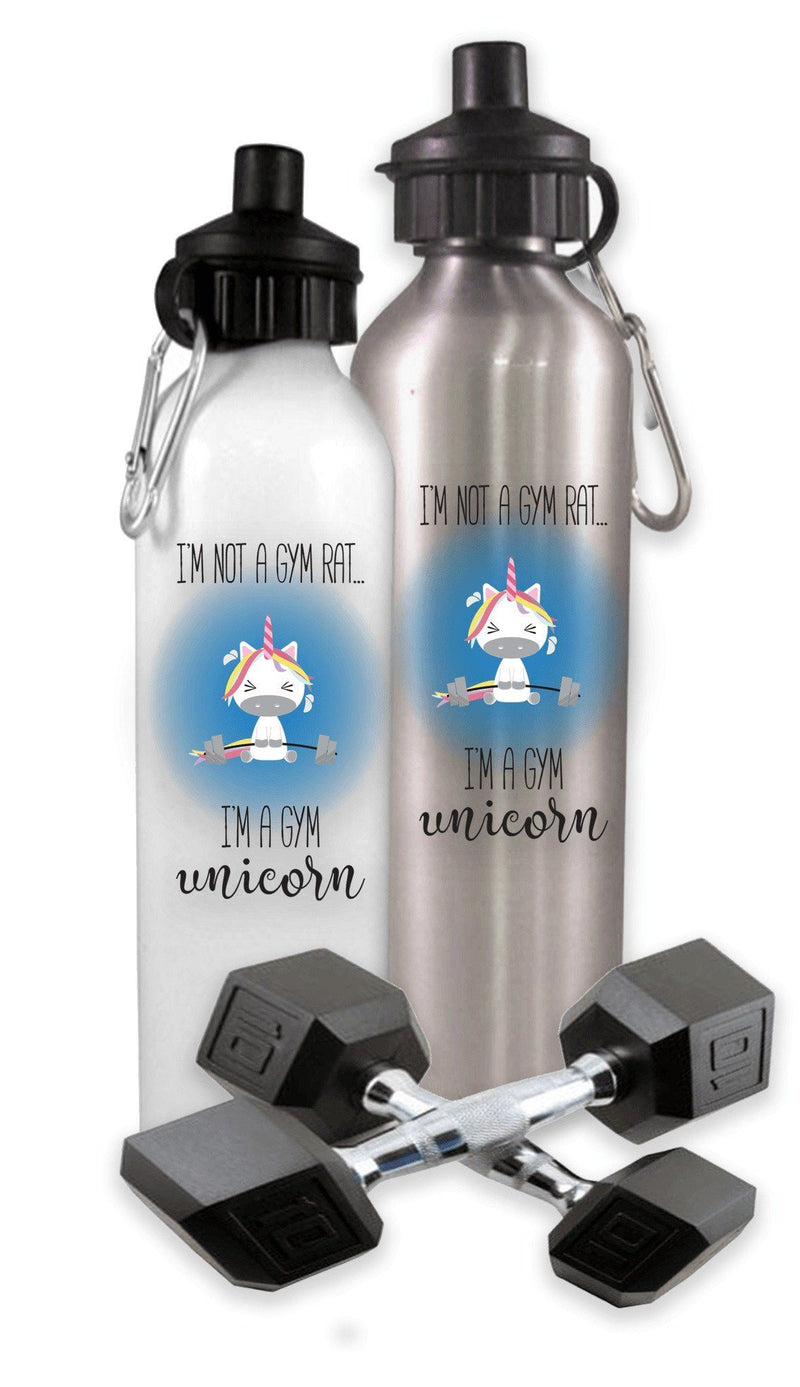 WATER BOTTLE - GYM UNICORN SPORTS WATER BOTTLE
