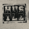 "Workout Design - ""HUSTLE"" DISTRESSED STYLE SHIRT"