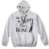 Workout Design - SLAY THEN ROSE' FUNNY ATHLETIC SHIRT