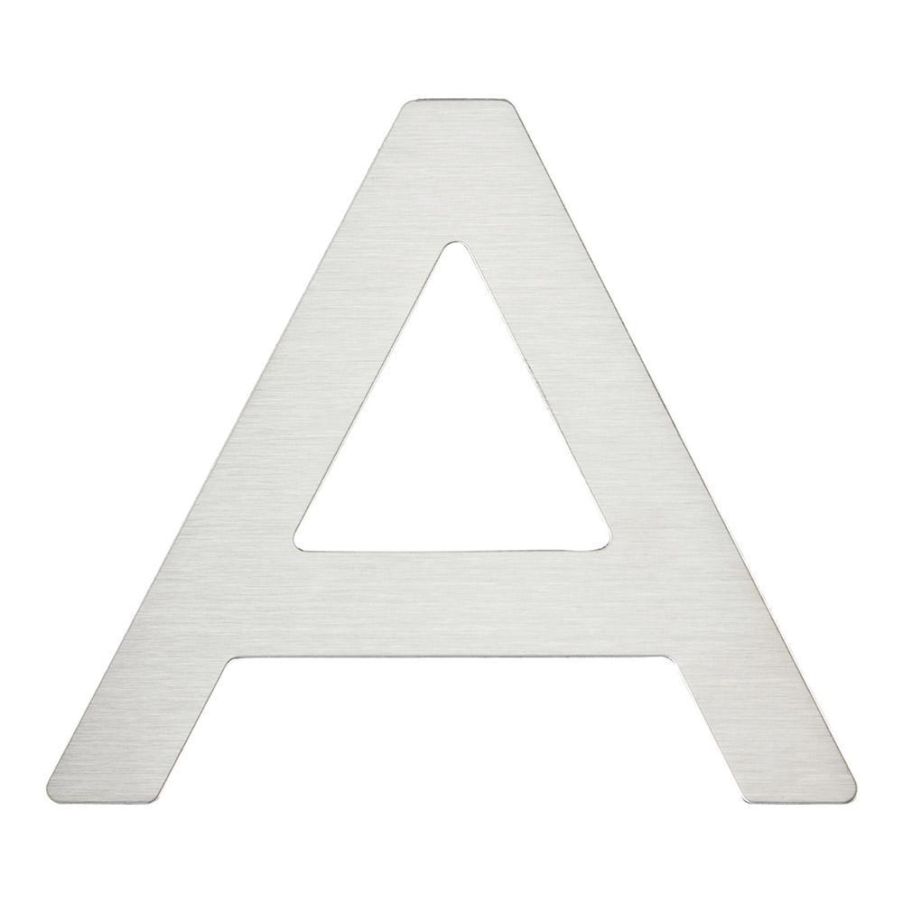 Atlas Homewares Paragon Letter Stainless Steel, A
