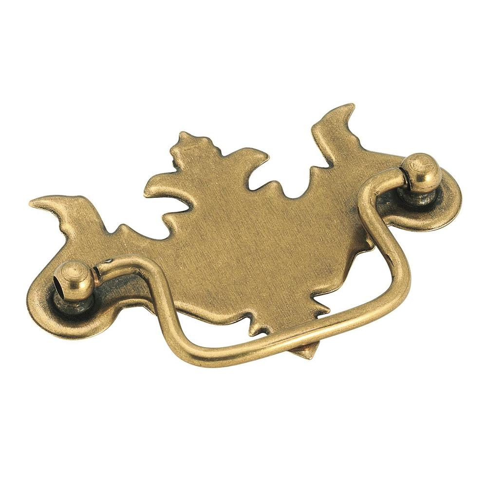 Amerock Allison Value Burnished Brass Traditional Cabinet Pull - Burnished Brass - BP3425BB
