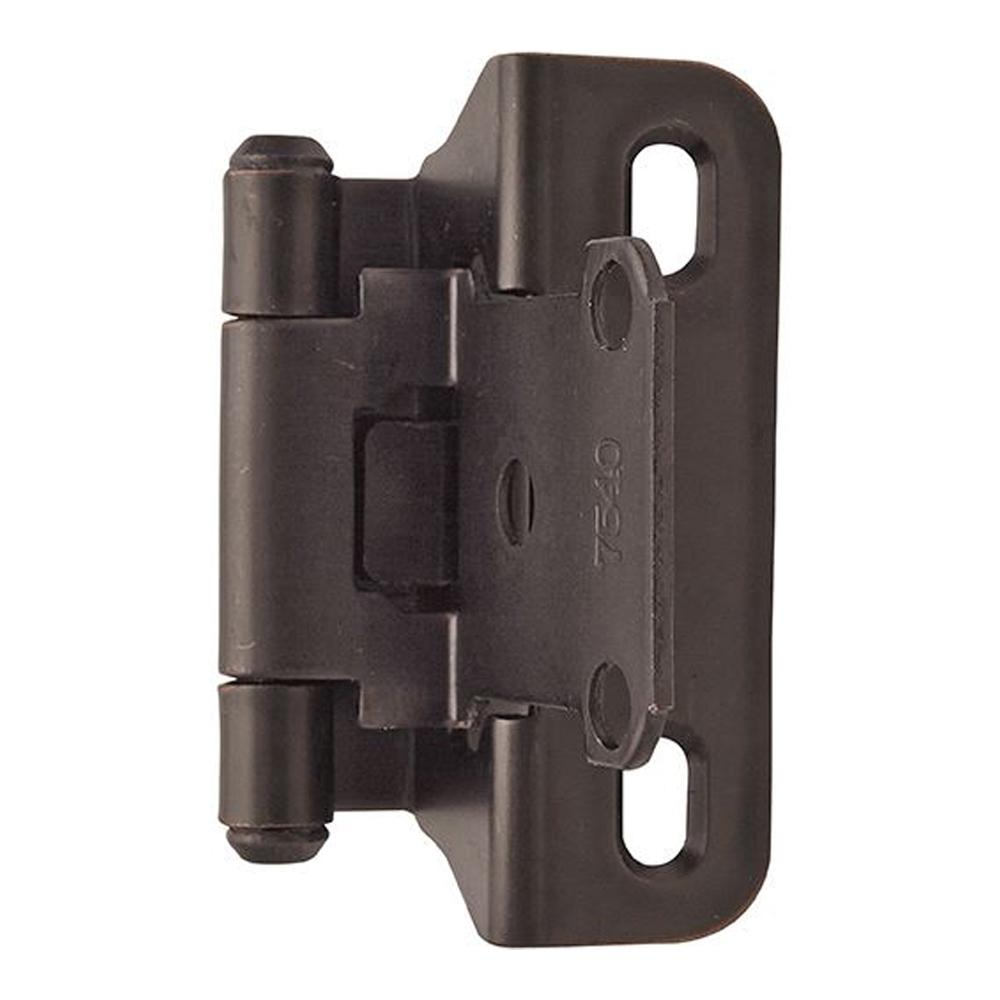 Amerock Functional Hardware Overlay Self-Closing Cabinet Hinge - 2 Pack