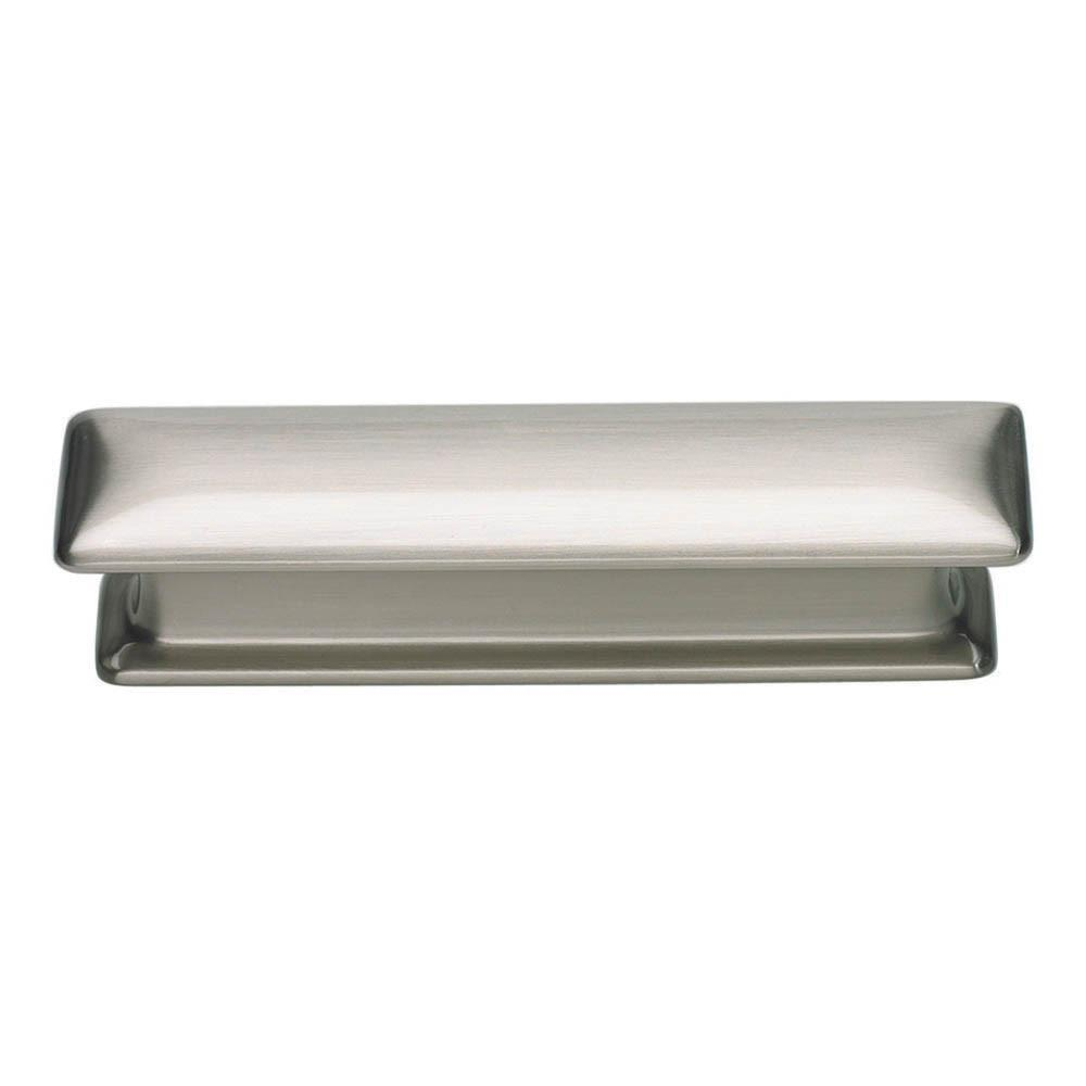 Atlas Homewares Alcott Square Pull Cabinet Pull Brushed Nickel / 4 in