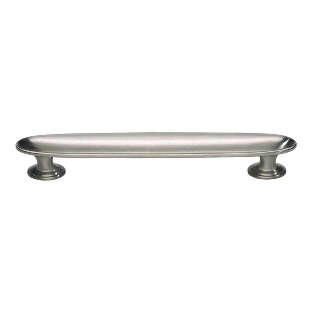 Atlas Homewares Austen Oval Pull Cabinet Pull Brushed Nickel / 4 in