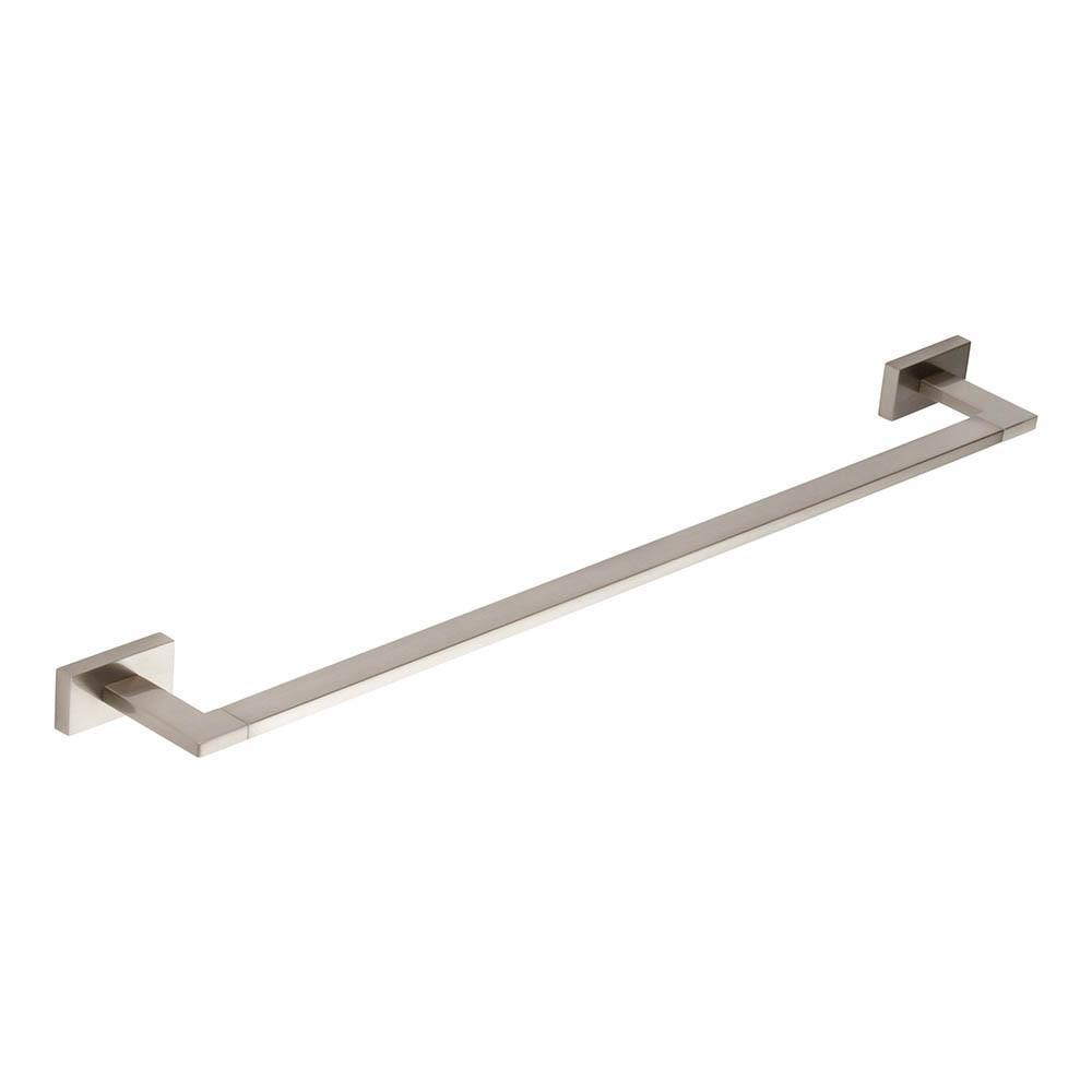 Atlas Homewares Axel Towel Bar Bath Hardware Brushed Nickel / 17-5/9 in