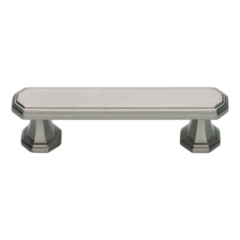 Atlas Homewares Dickinson Handle Pull Cabinet Pull Brushed Nickel / 4-1/5 in