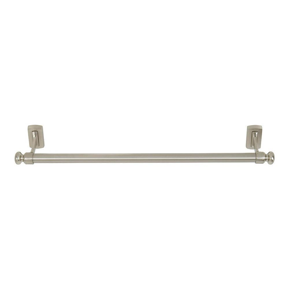 Atlas Homewares Legacy Collection Towel Bar Bath Hardware Brushed Nickel /  20 In