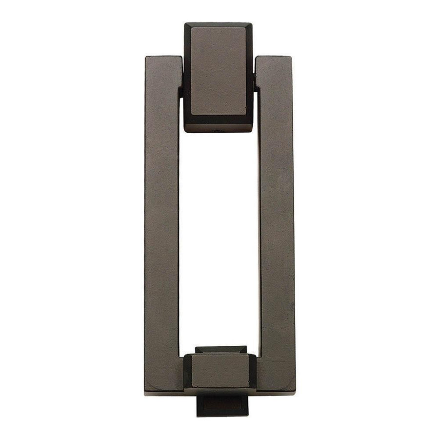 Atlas Homewares Mission Door Knocker House Numbers Brushed Nickel / 5-3/8 in