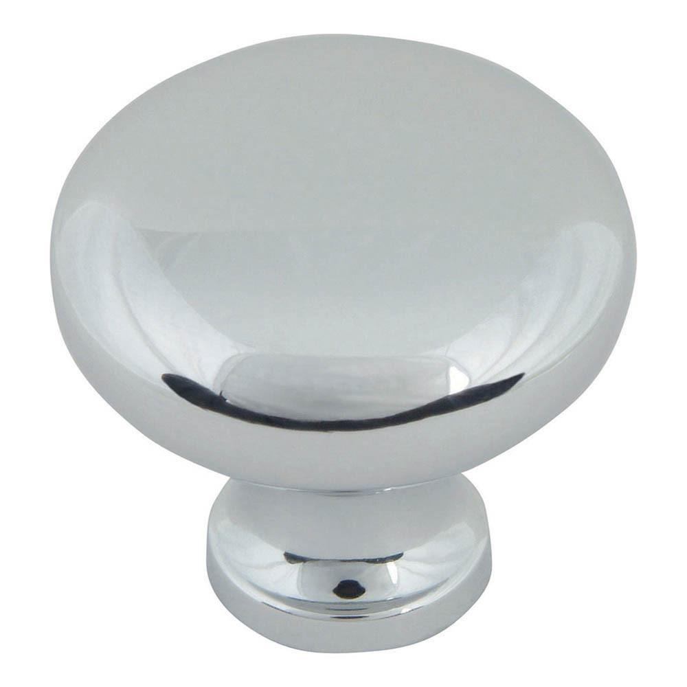 Atlas Homewares Successi Round Knob Cabinet Knob Brushed Nickel / 1-1/4 in
