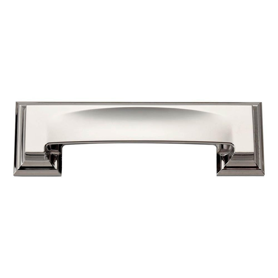 Atlas Homewares Sutton Place Bin Cup Pull Cabinet Pull Brushed Nickel / 5 in