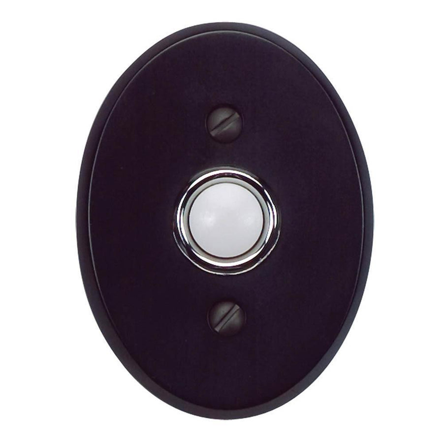 Atlas Homewares Traditionalist Door Bells House Numbers Black / 3 in