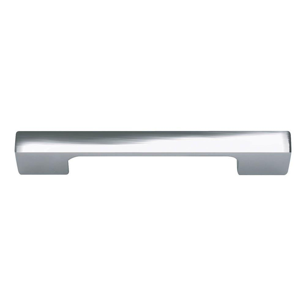Successi Thin Square Pull By Atlas Homewares Cabinet Pull Polished Chrome /  4 2/