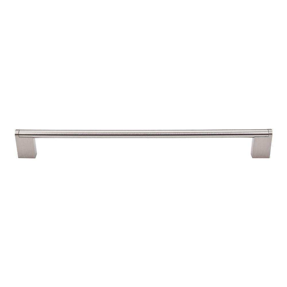 Top Knobs Bar Pull Princetonian Pull Cabinet Pull Brushed Satin Nickel /  19 11/
