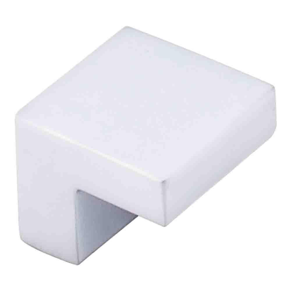 Top Knobs Square Knob Cabinet Knob Aluminum / 1 in