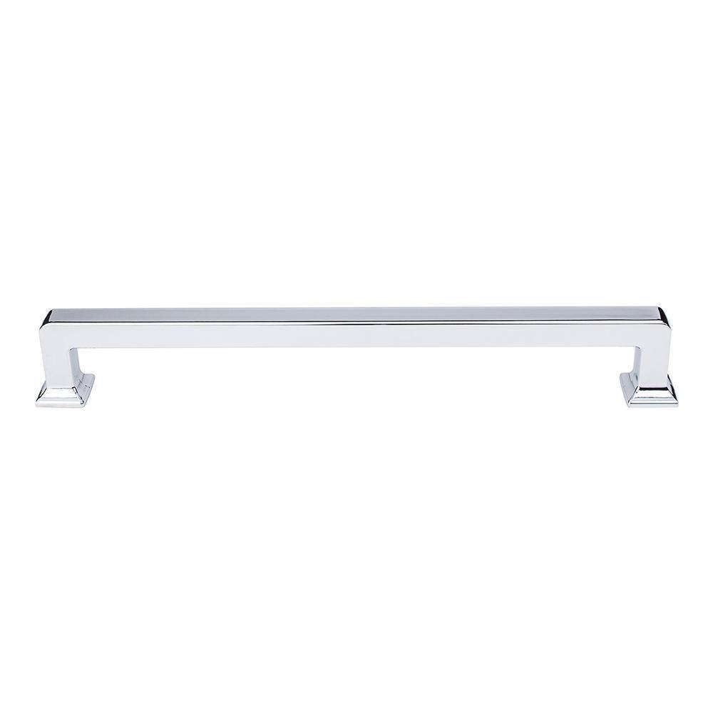 Top Knobs Transcend Ascendra Appliance Pull Appliance Pull Brushed Satin Nickel / 13 in