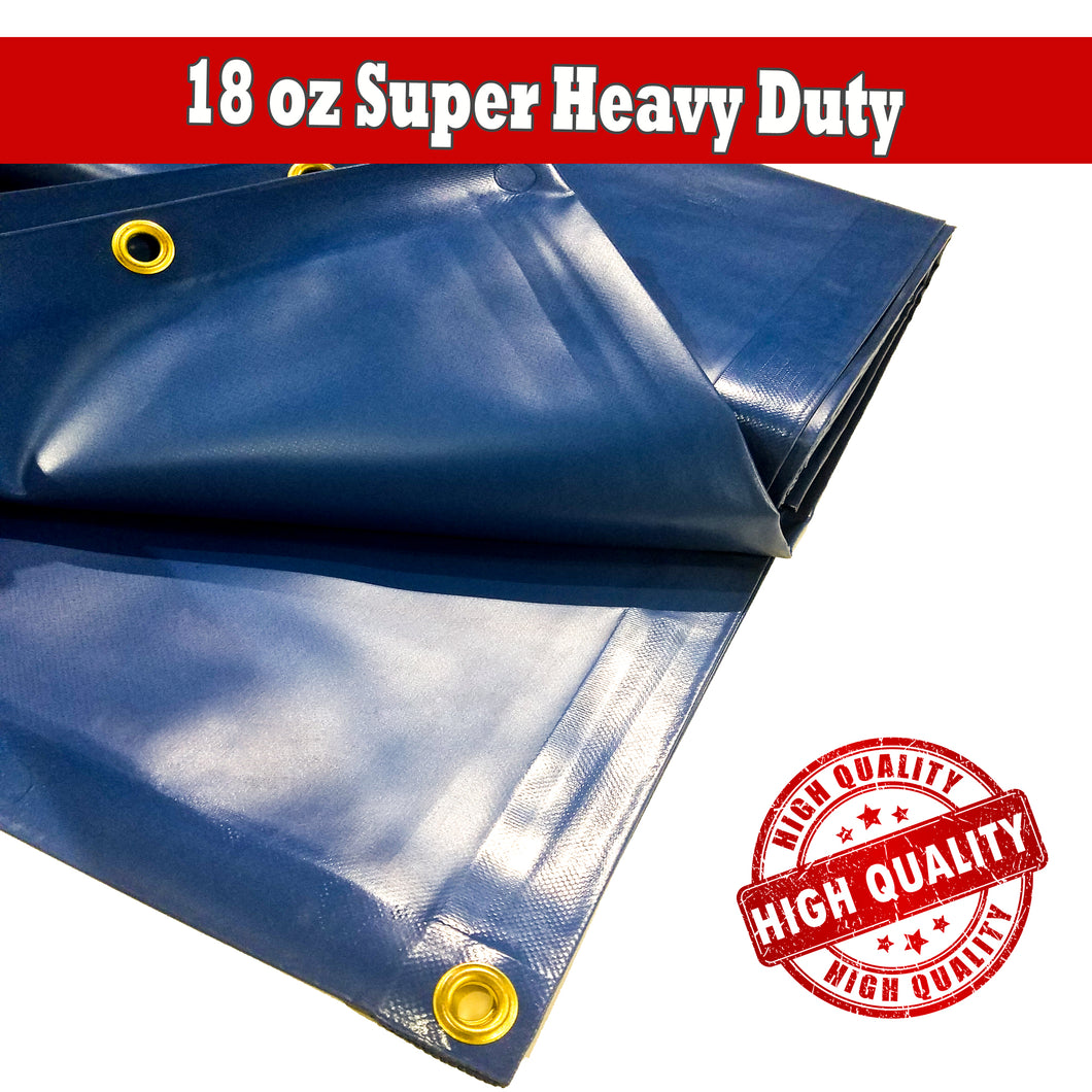 18oz Heavy Duty Vinyl Tarp