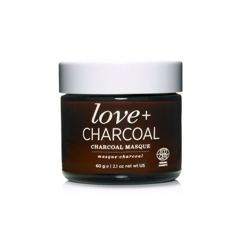 One Love Organic's love + charcoal Masque