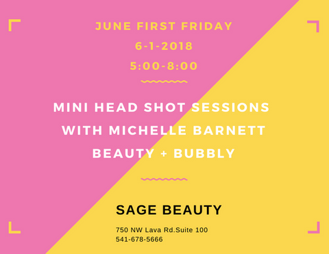 June First Friday Mini Head Shot Session with Michelle Barnett
